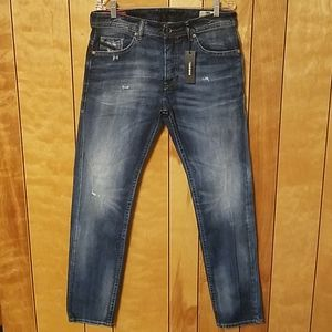 Diesel Mens Jeans 33 x 32 Thommer Slim Skinny New